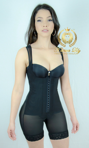 Karina Classic Shapewear with Full Coverage Mid Leg