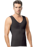 Men's Vest with Zipper Compression Mens Faja Colombian