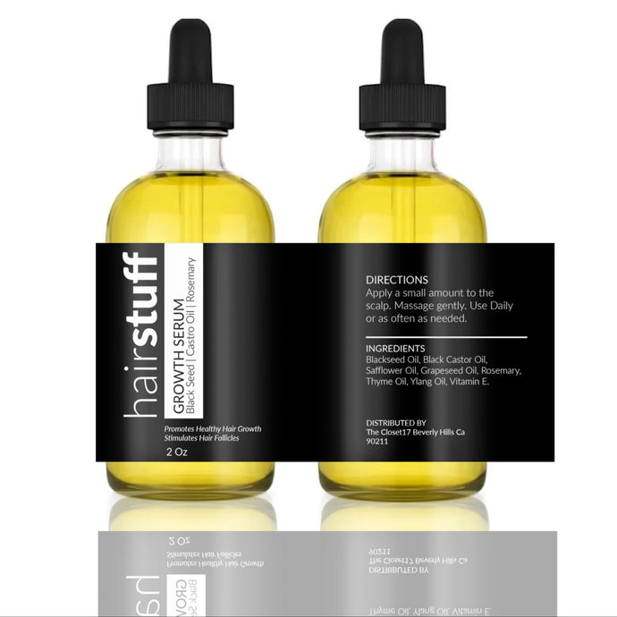 C17 Hairstuff Growth Serum - TheCloset17
