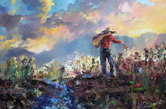 """The Sower"" Giclee'"