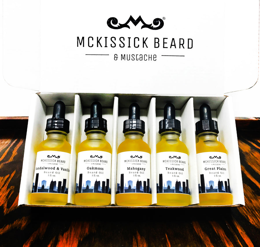 Beard Oil Sampler - Outdoors