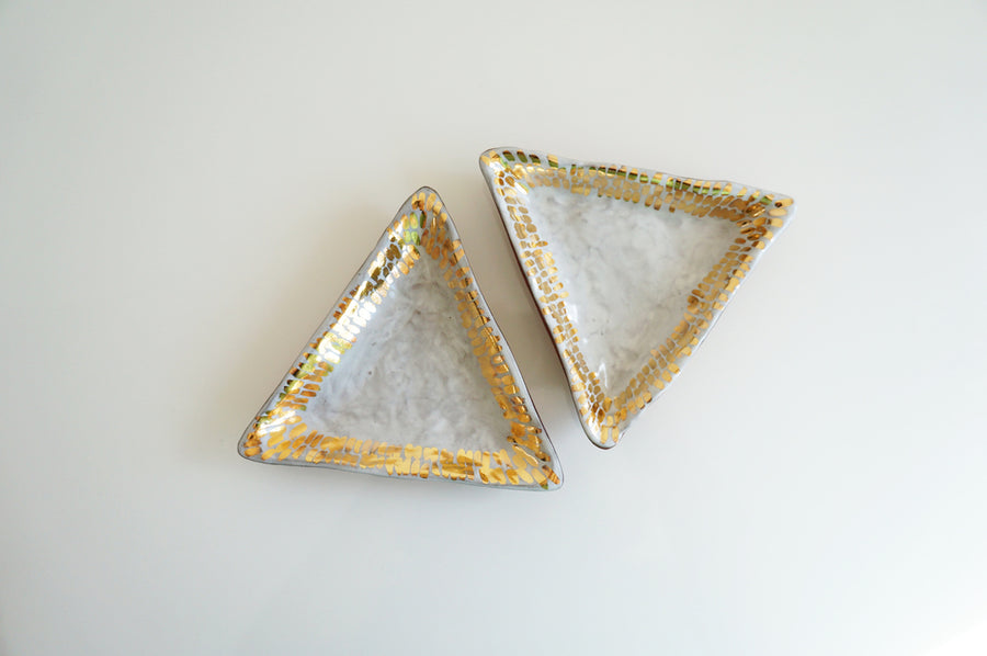 Triangle Tray + Golden Dash