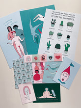 Kit promo 3 prints + 4 cartes postales