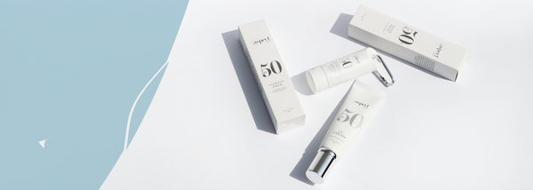 Aspect Sun SPF 50 and SPF50+ skincare products