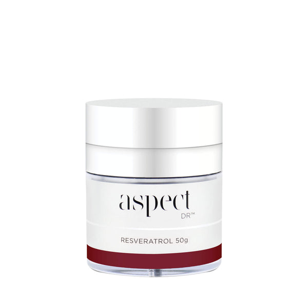 Aspect Dr Resveratrol Moisturising cream. The go-to moisturiser for ageing skin.