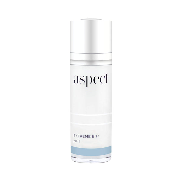 Aspect Extreme B 17 vitamin B serum. Even out skin tone and balance excess oil.  Vegan friendly.