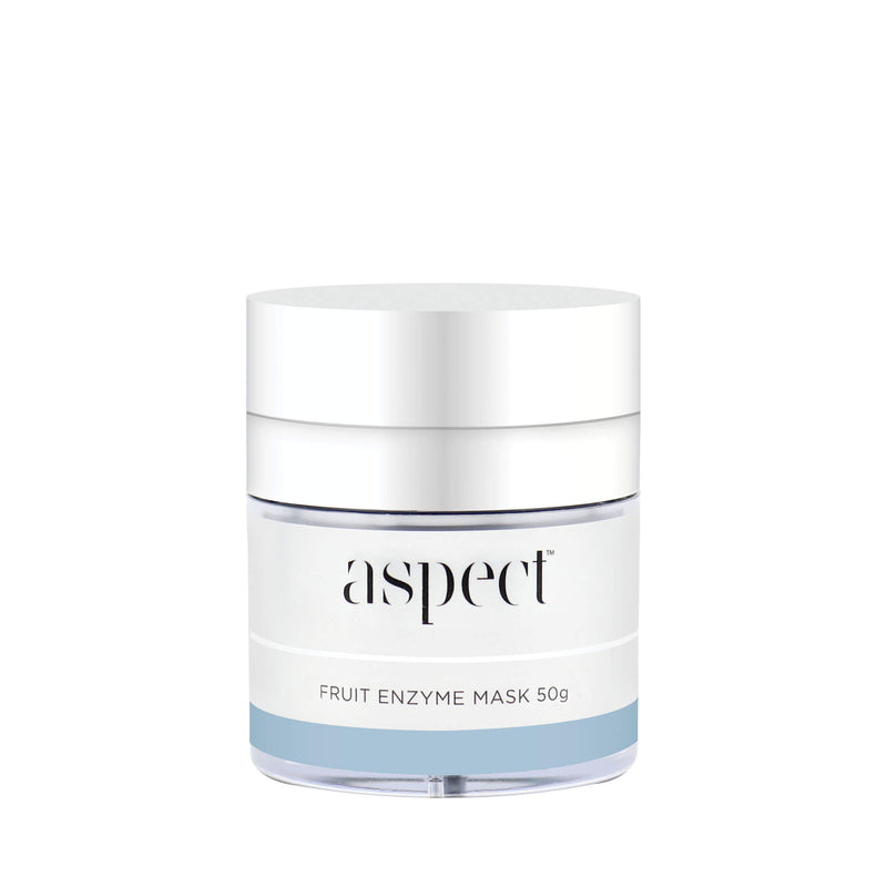 Invigorate skin with this exfoliating gel-mask. Harnessing the power of fruit enzymes to help remove lifeless skin cells, revealing a smoother, more radiant looking appearance. Vegan Friendly. Home Spa skincare