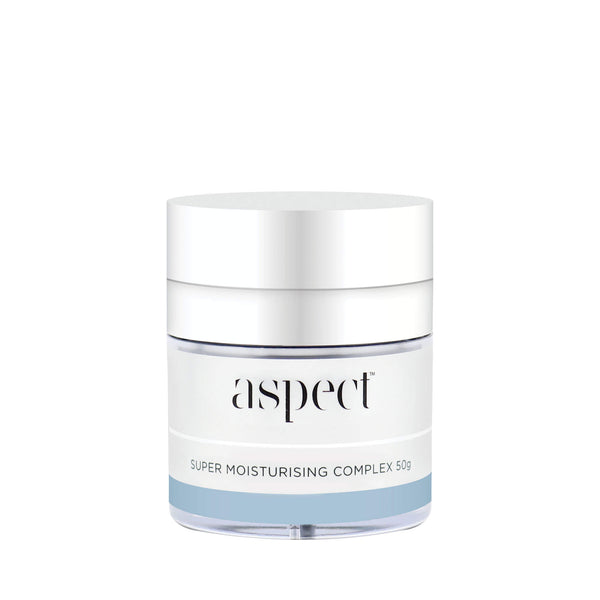 Aspect  SMC - Super moisturising complex. A luxurious face cream perfect for ageing skin.