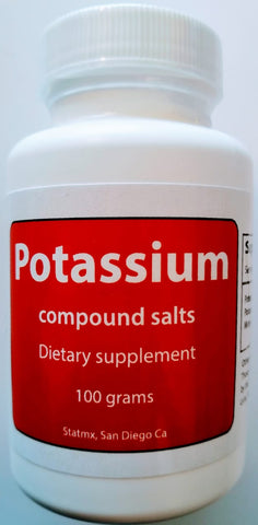 Potassium Compound salts (100 gr)