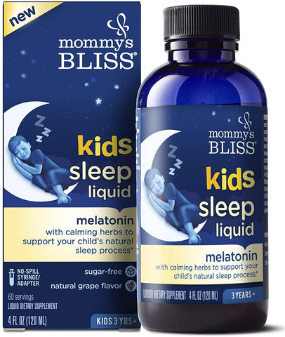 Melatonina Kids 120ml Mommy's Bliss - seminkahealthstore