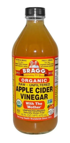 Organic Apple Cider Vinegar (473ml) Bragg - seminkahealthstore