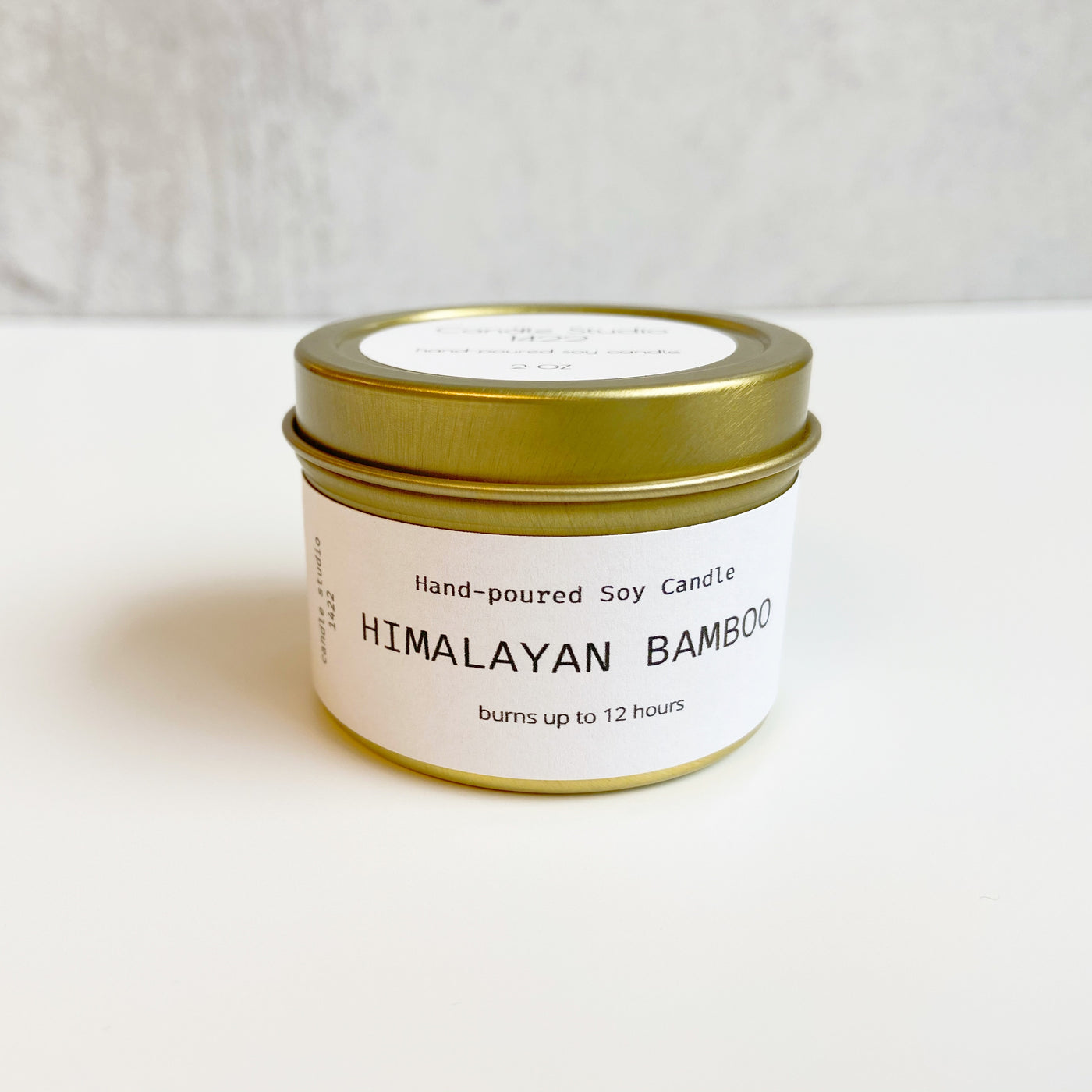 HIMALAYAN BAMBOO 2 oz Travel Tin Soy Candle