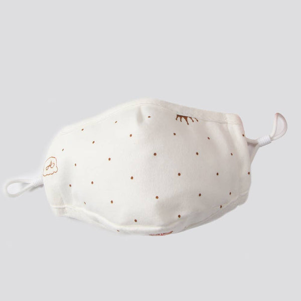 Kid's Cotton Face Mask with filter pocket - Dotty