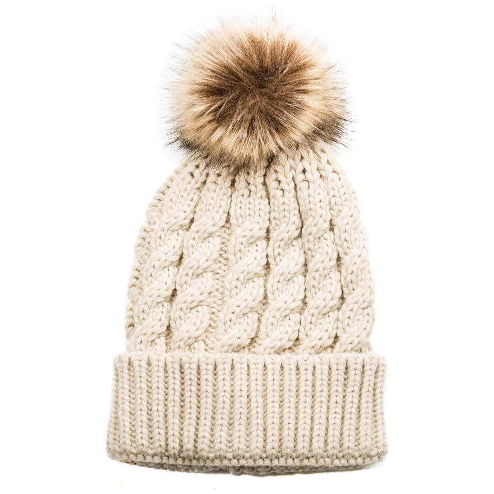 Emma Pom Pom Hat | 5 Colors