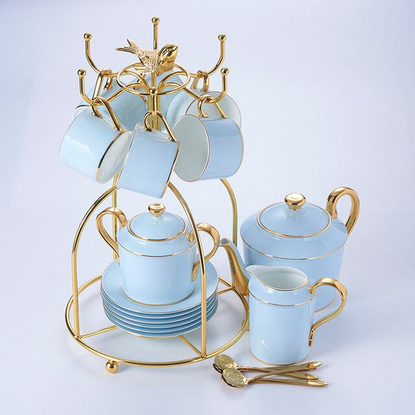 SANTORINI TEACUP COLLECTION SET