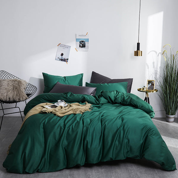 DECOR LANE LUXURY DUVET & SHAMS EGYPTIAN COTTON 600TC