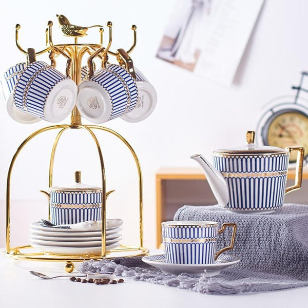 LONDON TEACUP COLLECTION SET