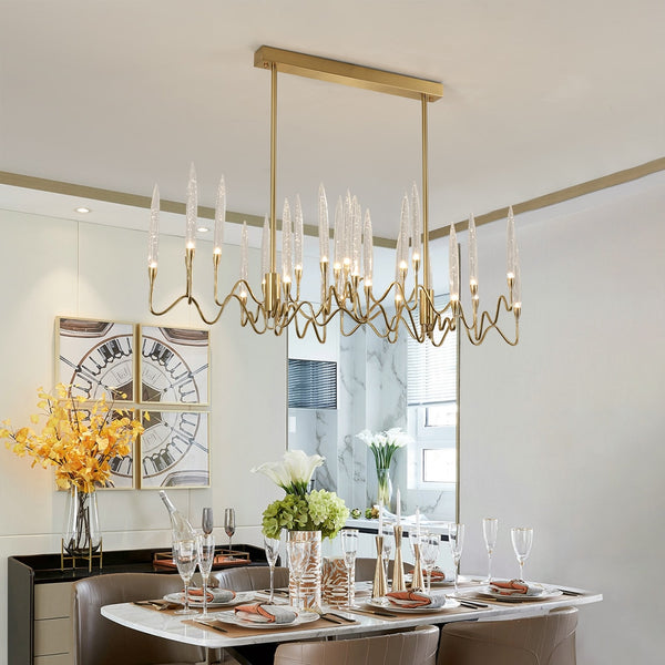 EUROPEAN CANDLE CHANDELIER