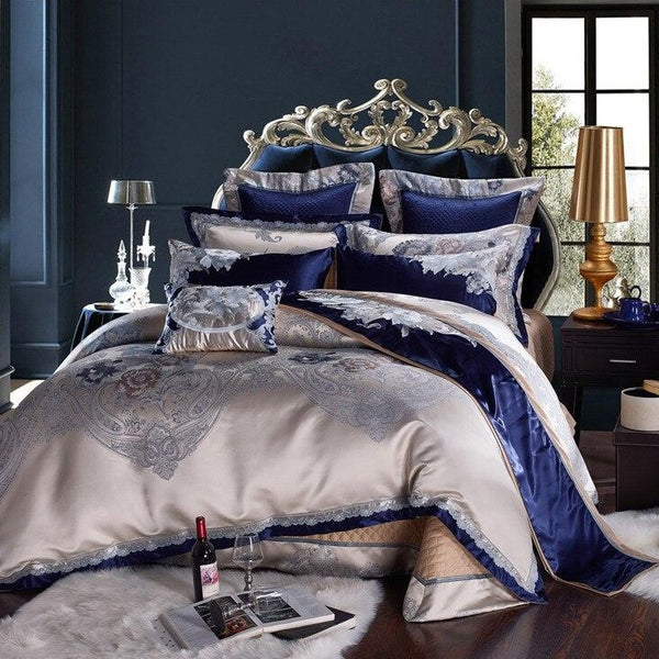 TAYLOR LUXURY DUVET COVER & SHAMS 1000TC