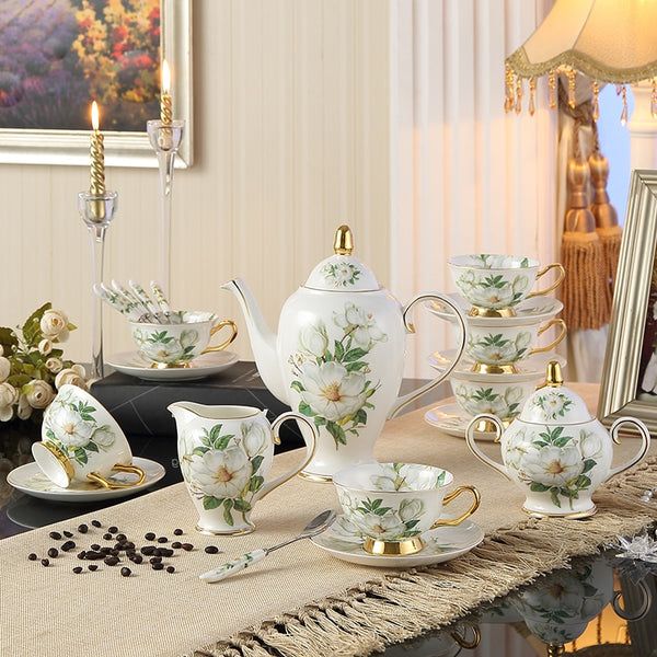 FLOREZIYA TEACUP COLLECTION SET