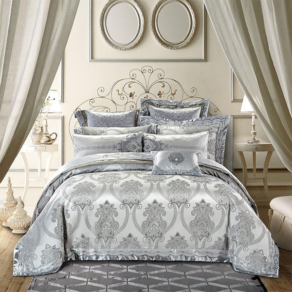 VICTORIAN LUXURY DUVET COVER & SHAMS 600TC