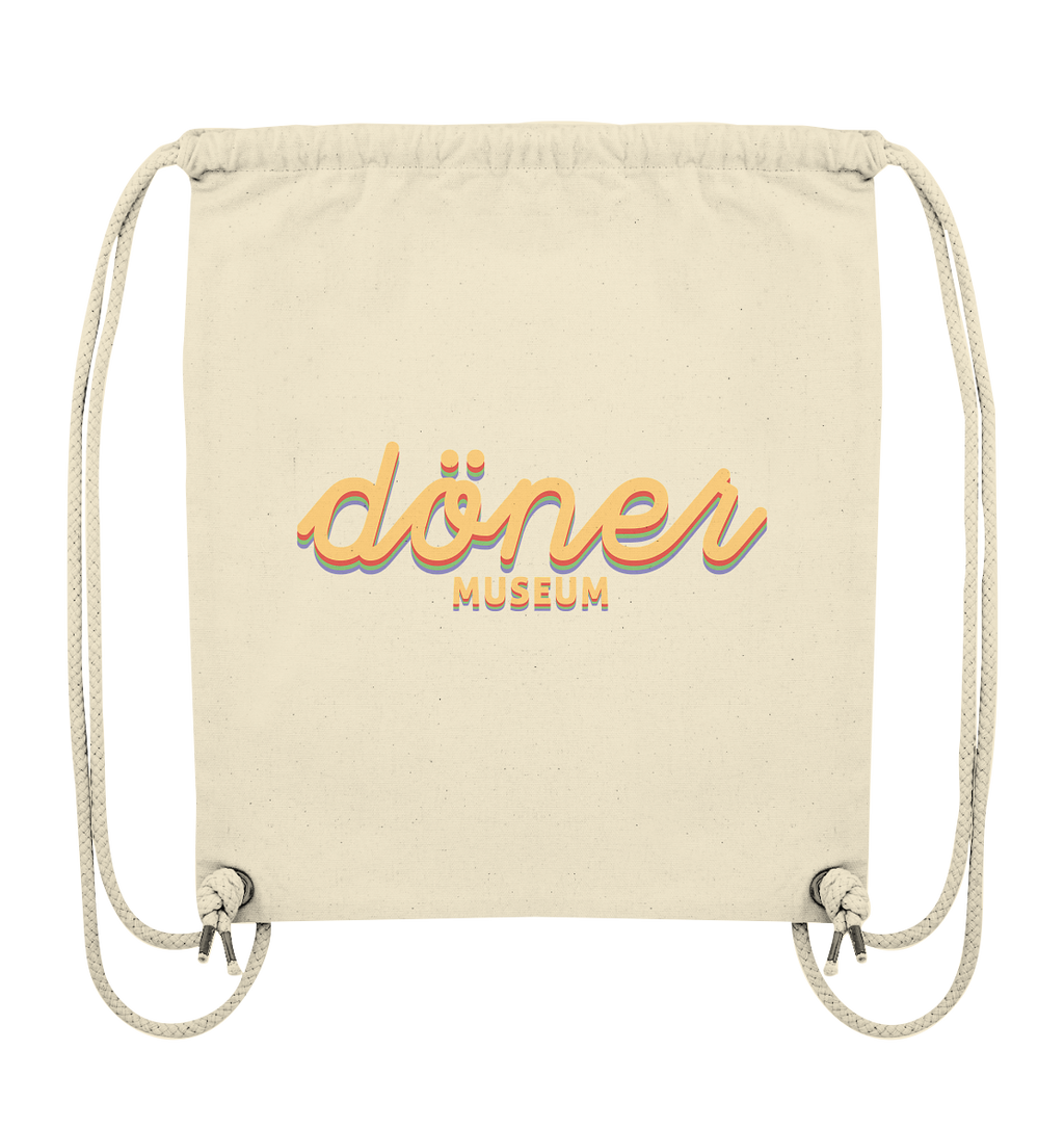 Das Döner Museum gym bag in color  - Organic Gym-Bag
