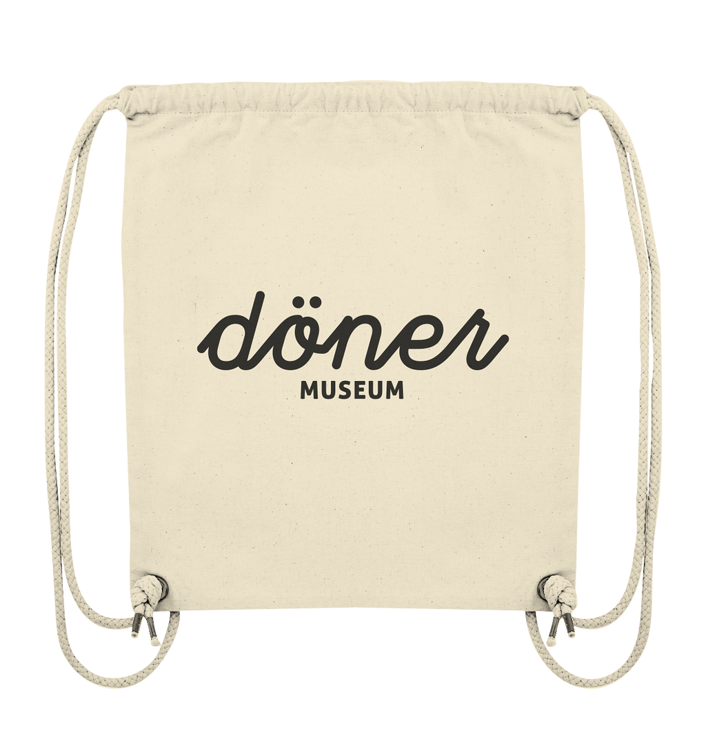 Das Döner Museum gym bag black - Organic Gym-Bag