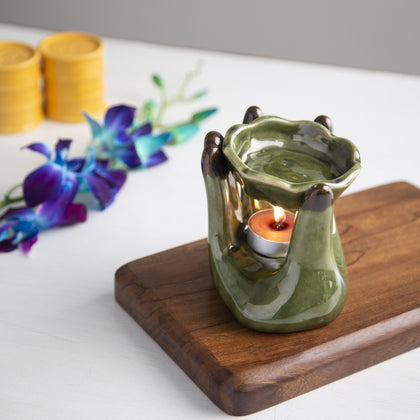 Hand Shaped aromatherapy Oil Burner