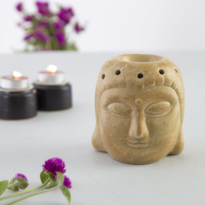 Ceramic Buddha Shaped Oil Diffuser