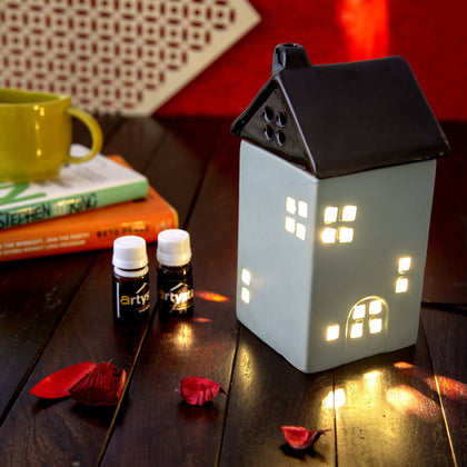 Hut Shaped Electric Aroma Oil Diffuser