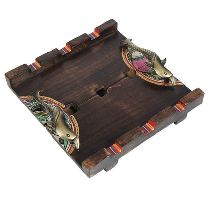 Handcrafted Decorative Wooden Serving Tray