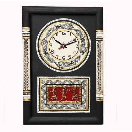 Handcrafted Traditional Wooden Wall Clock for Living Room|Wall clock for bedroom stylish