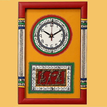 IndiaSupply Traditional Wall Clock for Home