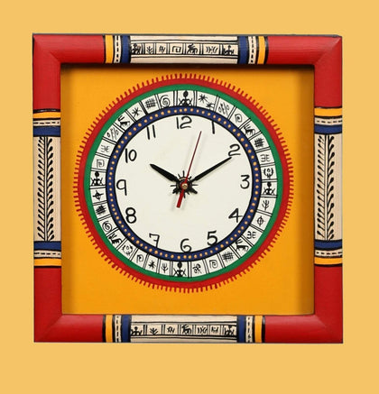Handcrafted Traditional Wooden Wall Clock for Home & Office