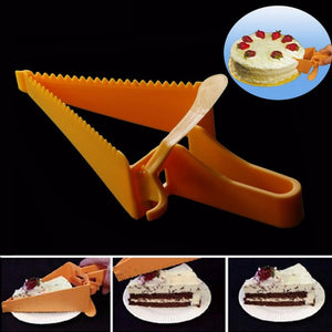 Unique and easy adjustable cake slicer