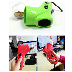 Dog snack and treat launcher. Give your pet a treat with this snack launcher. Exercises your dog too!