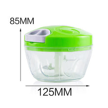 Load image into Gallery viewer, Multifunction speedy vegetable, meat, fruit Chopper/Cutter/Shredder