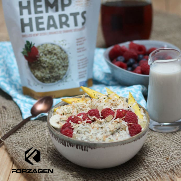 OATMEAL AND HEMP POWER BOWL