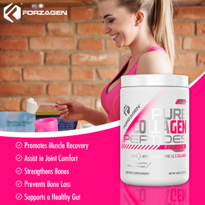 Pure Collagen Peptides Unflavored 35 Servings