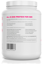 Load image into Gallery viewer, Protein Powder For Women - All in One for Her 2 Flavors Available