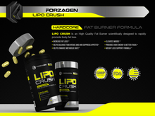 Load image into Gallery viewer, LIPO CRUSH FAT BURNER 90 CAPSULES