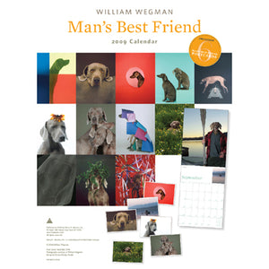 Man's Best Friend 2009 (Includes Bonus Postcards) (clearance) Wall Calendar - ImageExchange