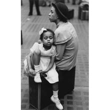 Mother and Daugher at Penn Station Photograph - ImageExchange