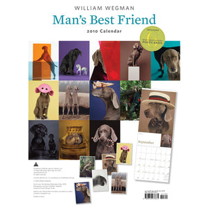 Man's Best Friend 2010 (Includes Bonus Postcards) Wall Calendar - ImageExchange