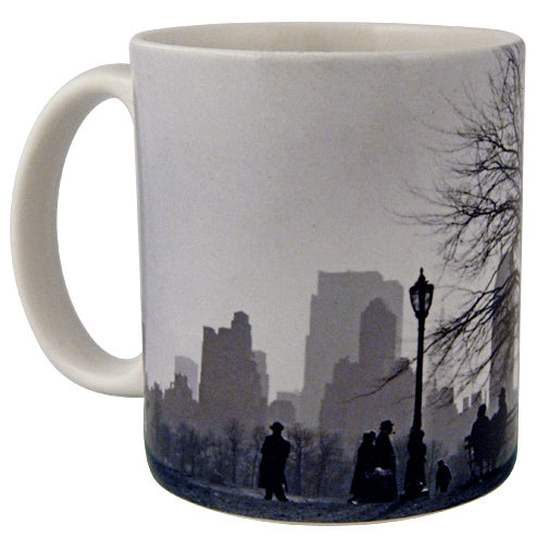 Central Park South Silhouette, NYC, 1955 Mug - ImageExchange