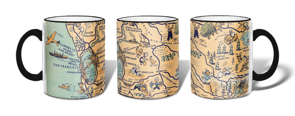 Golden State (San Francisco) Mug - ImageExchange