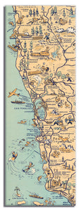 Golden State (San Francisco) Long Magnet - ImageExchange