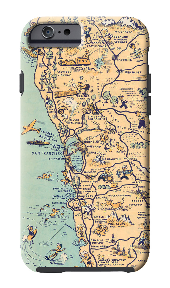 Golden State (San Francisco) Cell Phone Case - ImageExchange