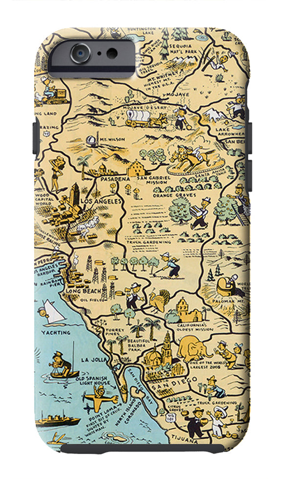 Golden State (San Diego) Cell Phone Case - ImageExchange