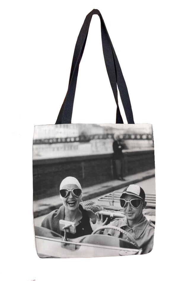 Couple in MG Tote Bag - ImageExchange